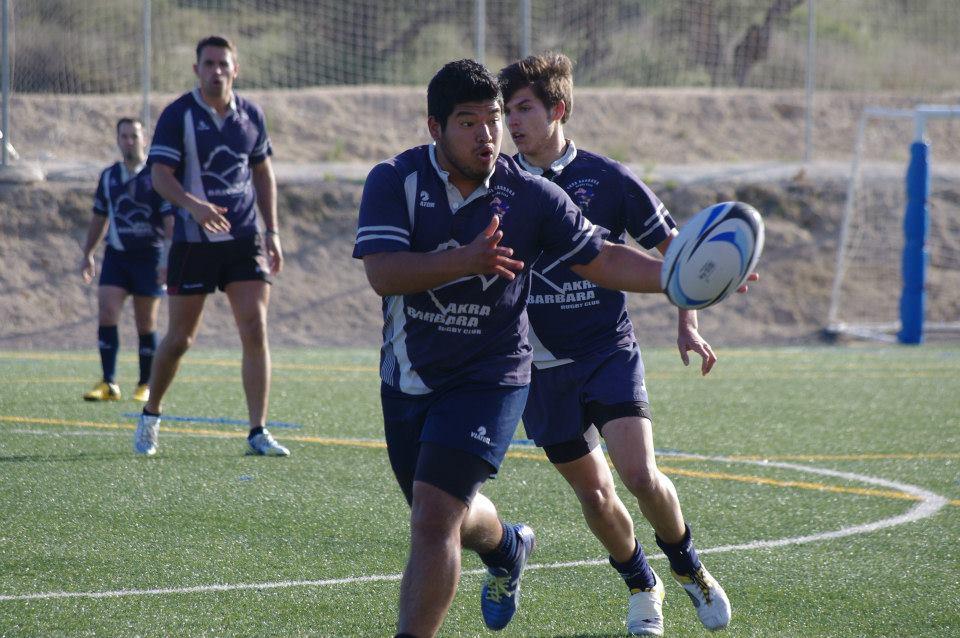 El AKRA en las Series Finales de Rugby-7