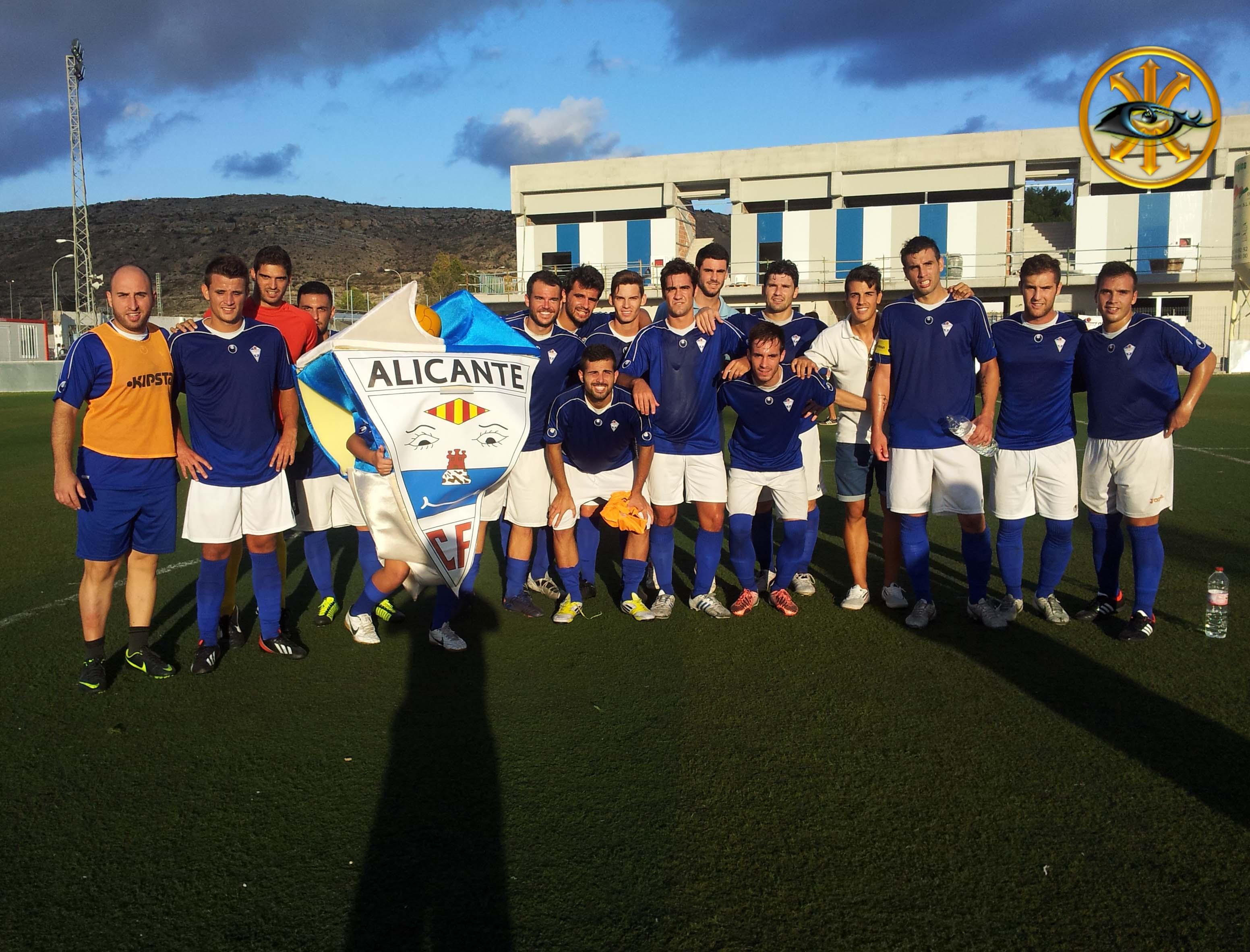 El Alicante vuelve al LIDERATO!!!!
