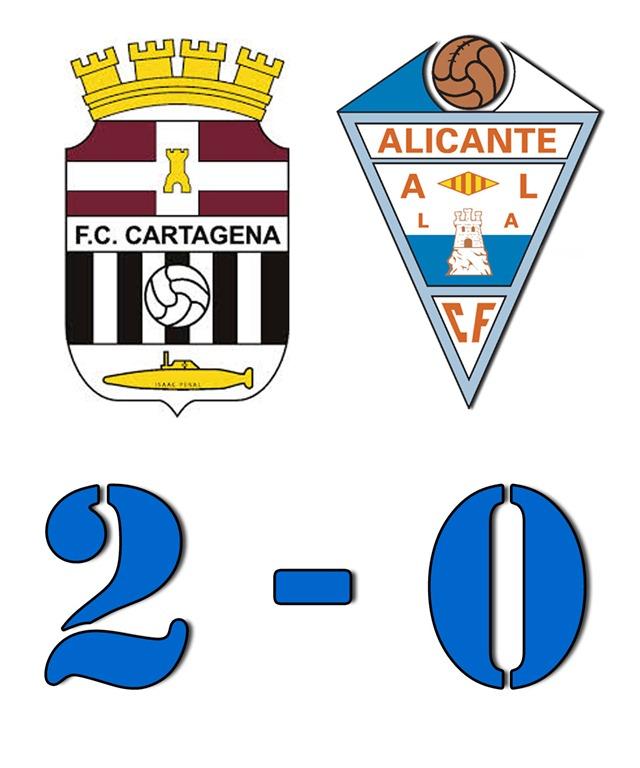 División de Honor : Cartagena 2 - Alicante 0