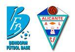 y a todo esto, EL MEJOR PARTIDO DEL AÑO : Benidorm FB - Alicante CF