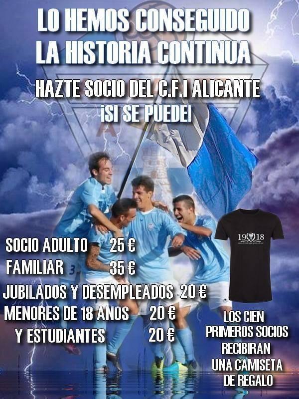 COMIENZA la Campaña de ABONOS 14/15 del Independiente ALICANTE