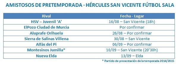 ULTIMAS NOTICIAS del HÉRCULES SAN VICENTE F.S.