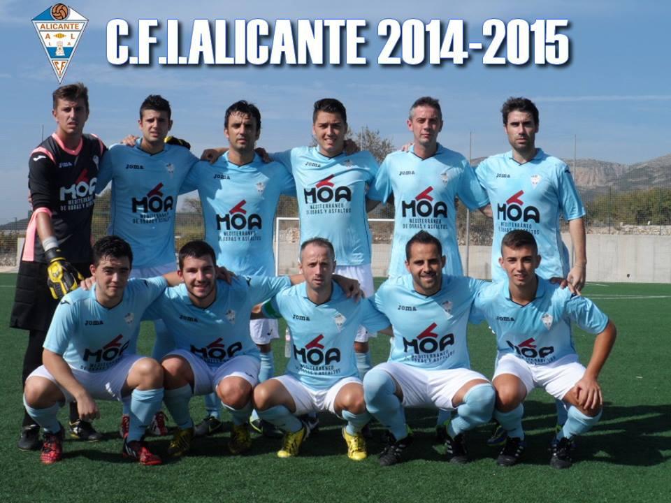 El C.F.I. ALICANTE comienza con VICTORIA !!!!