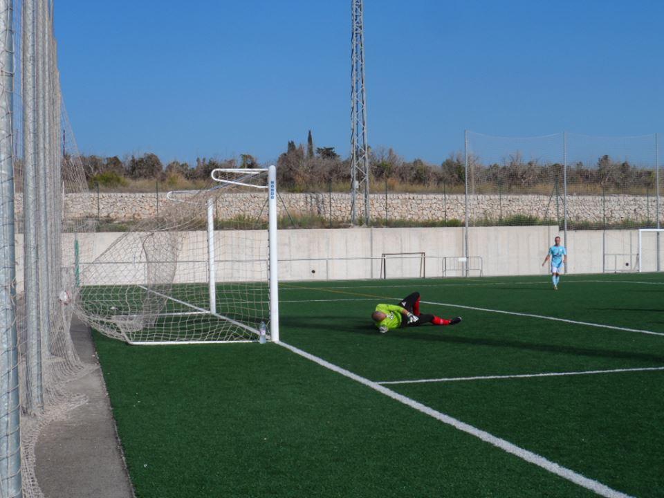 el primer gol