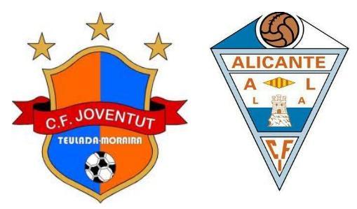 MERITORIA victoria del CFI ALICANTE en Teulada 1-3
